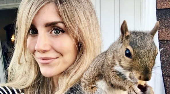 This Canadian woman is a real-life 'squirrel whisperer' (PHOTOS)