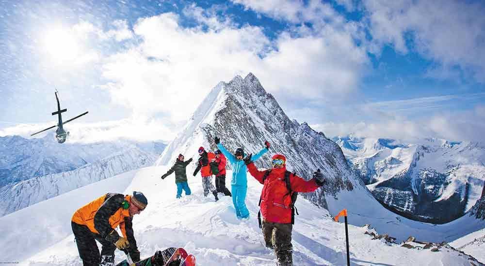 Heliskiing at Panorama ski resort (Panorama/Kyle Hamilton)
