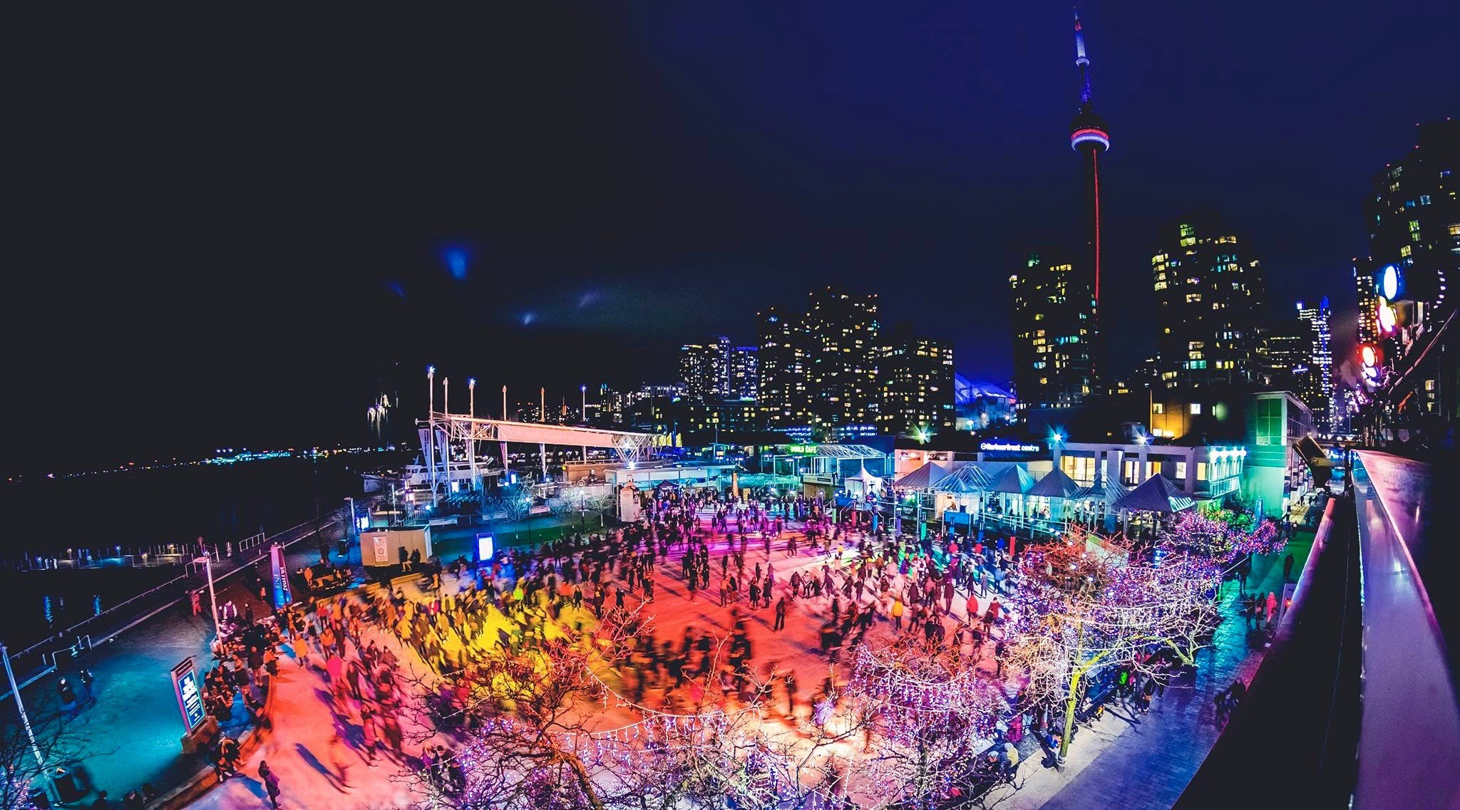Harbourfront centre ice skating 1