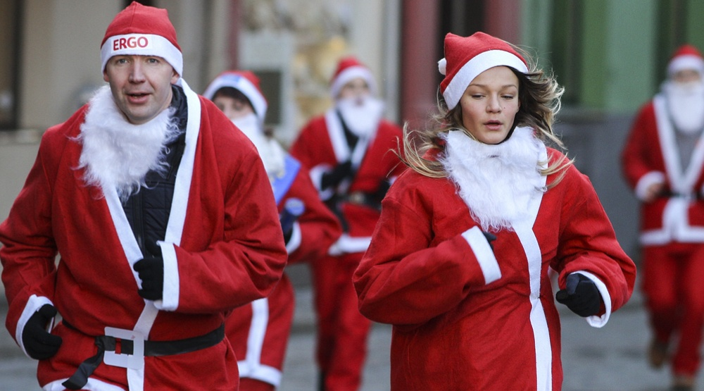 Santa Shuffle returns to Stanley Park Saturday December 2