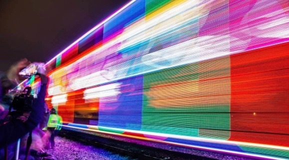 11 awesome photos of the holiday train coming through Toronto