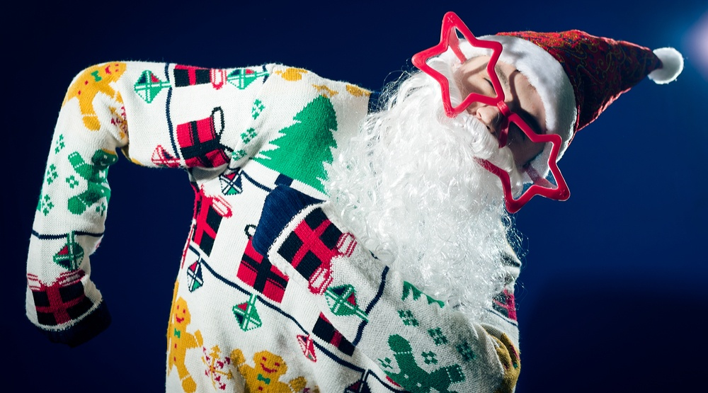The Ugly Christmas Sweater Party at the Commodore Ballroom 2016