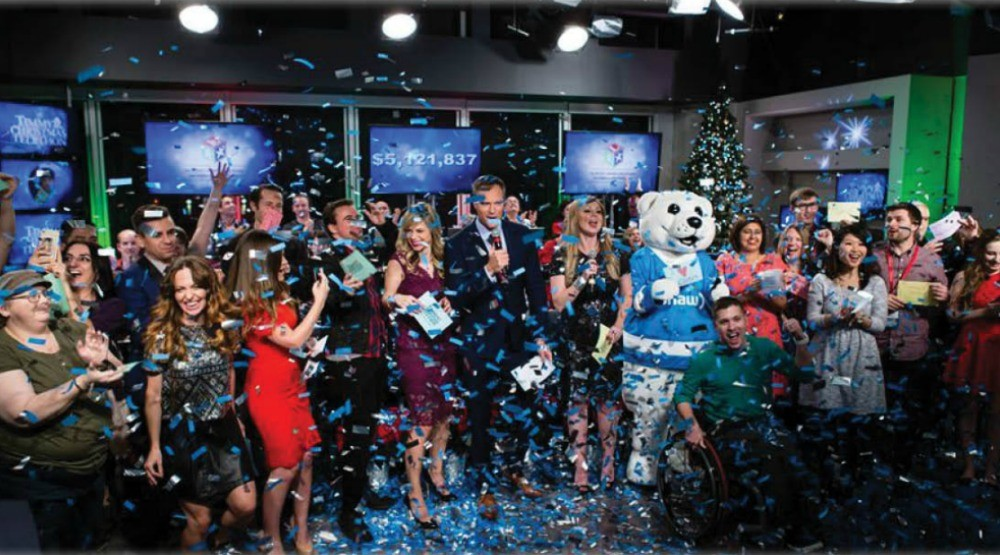 TV, holidays, and giving team up for the Timmy's Christmas Telethon