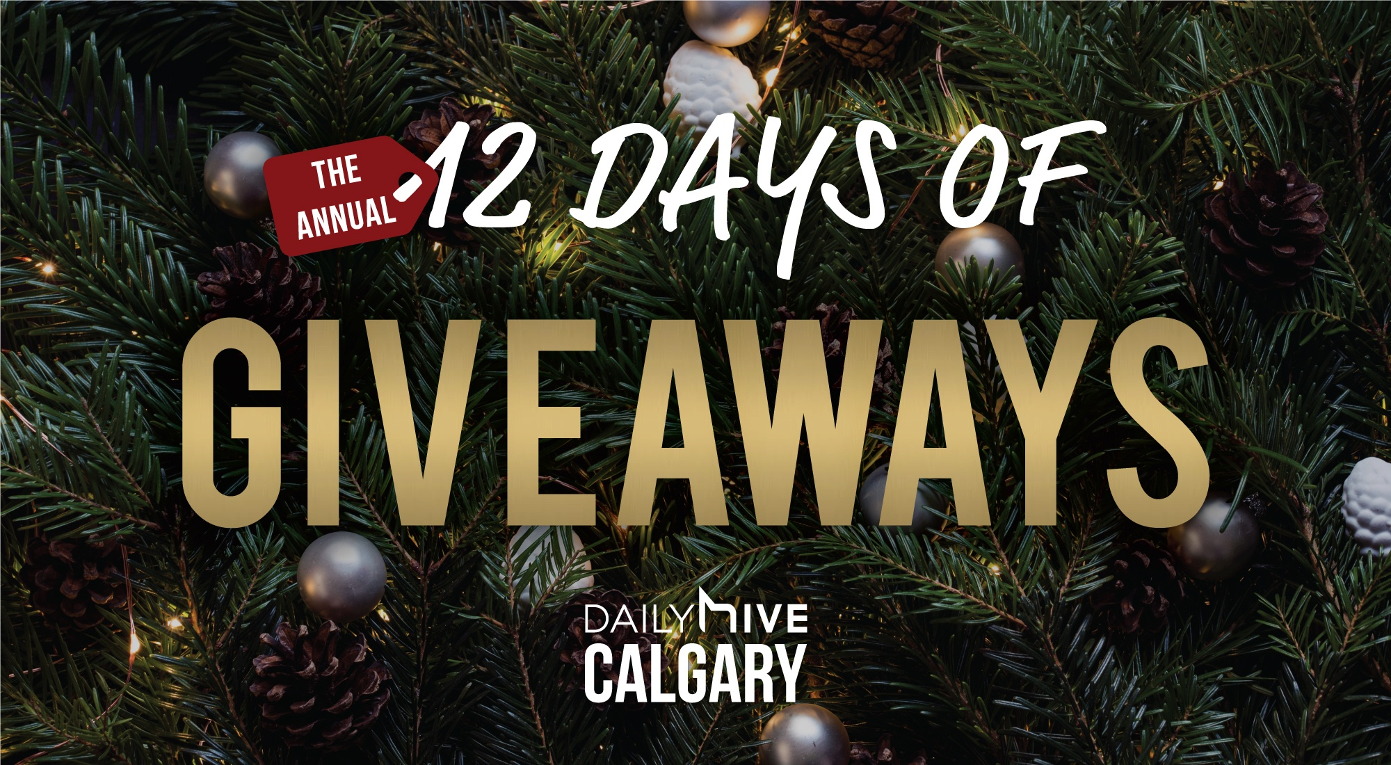 More than $32,000 in prizes in our second annual 12 Days of Giveaways