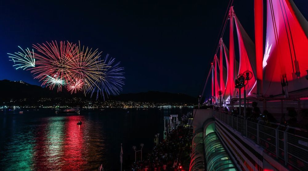 Canada place fireworks 1