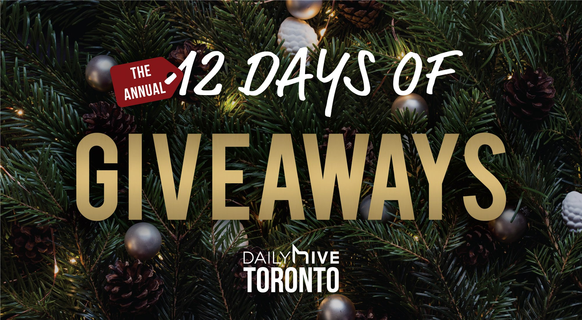 12 days of giveaways toronto feature image