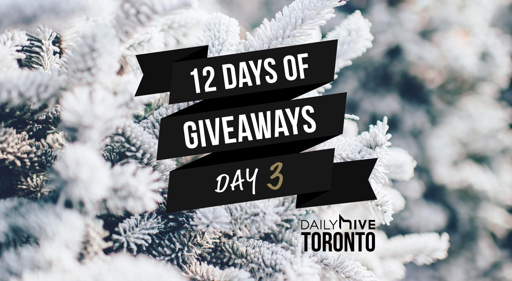 12 days of giveaways toronto 3