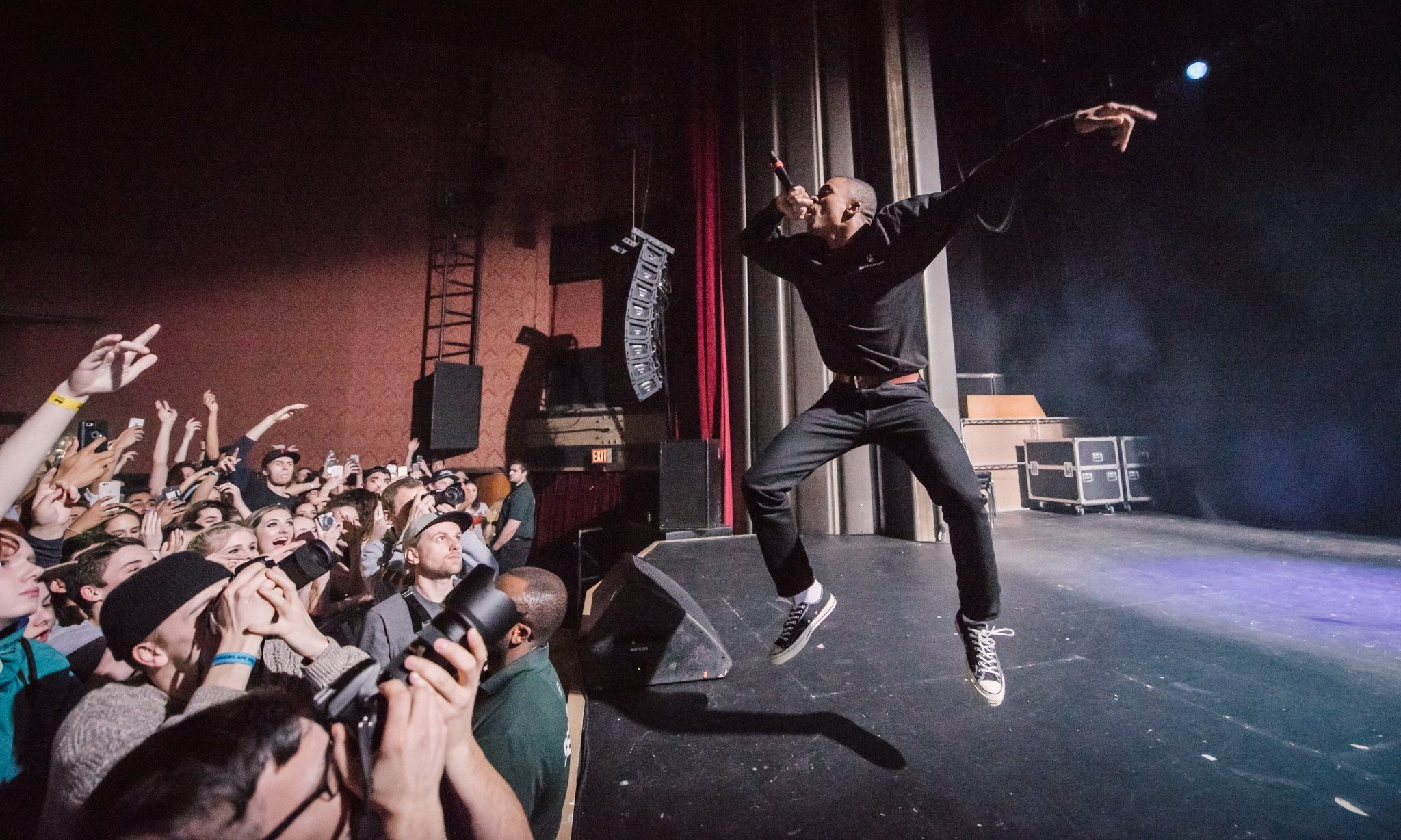 Vince Staples 2017 Vancouver concert at the Vogue Theatre