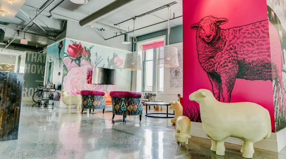 Cool offices in Vancouver: You'll seriously find sheep at Smart Design (PHOTOS)