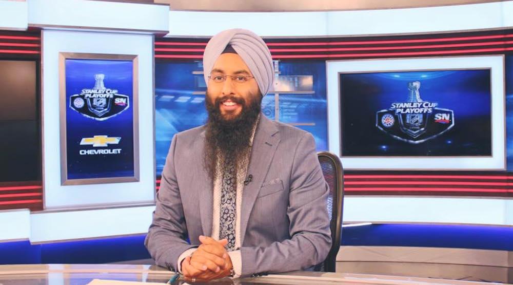 Voice of Hockey Night Punjabi to make English language hockey broadcast debut on Sportsnet