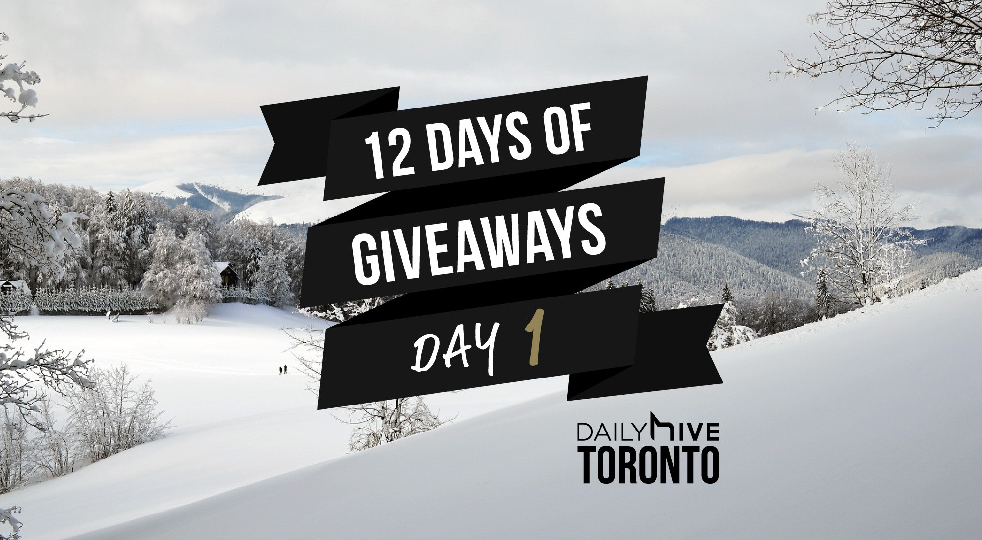 12 days of giveaways toronto 1