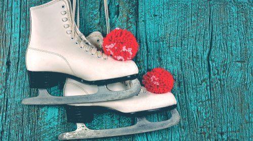 Holiday ice skating/Shutterstock