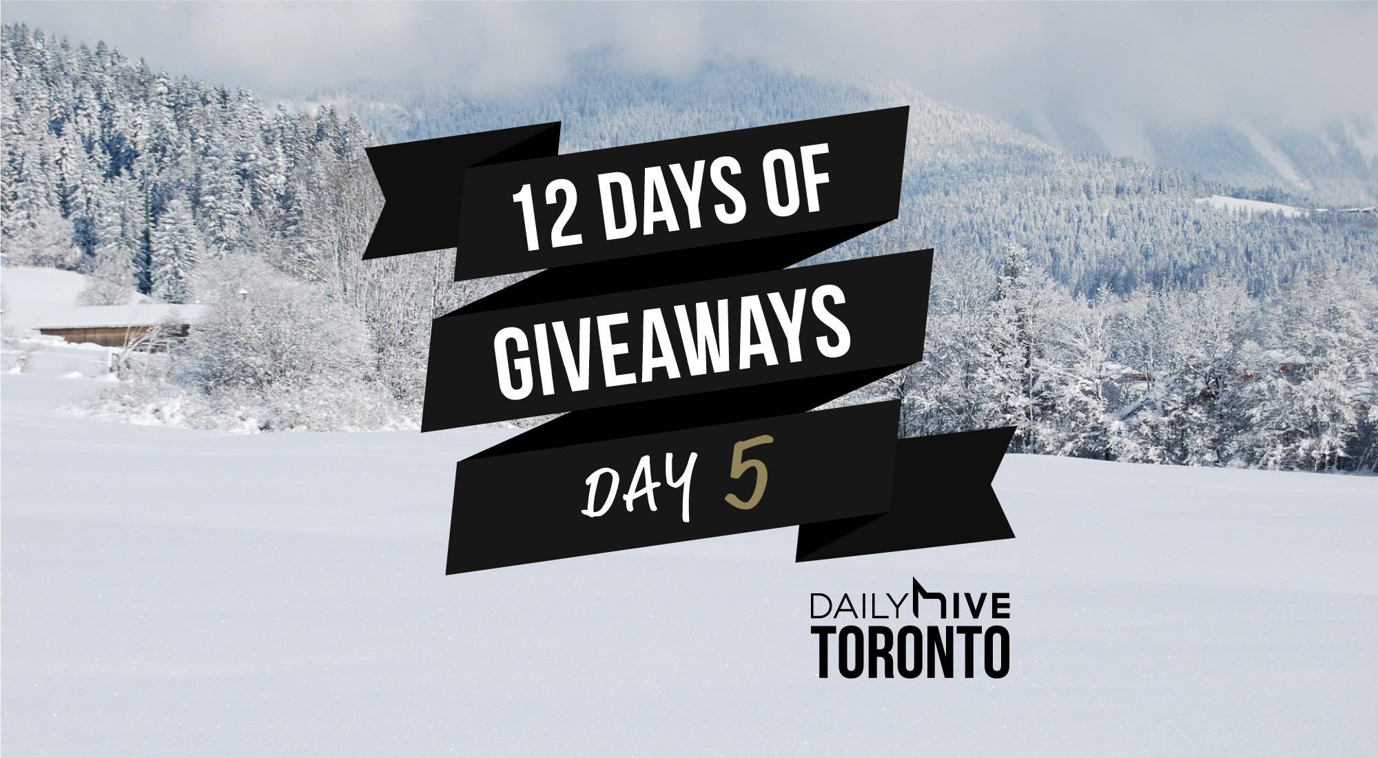12 days of giveaways toronto 5