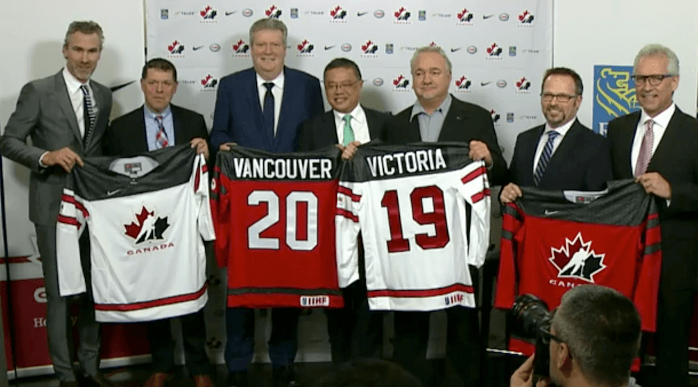 Vancouver and Victoria to host 2019 World Juniors  c77107aa4fd