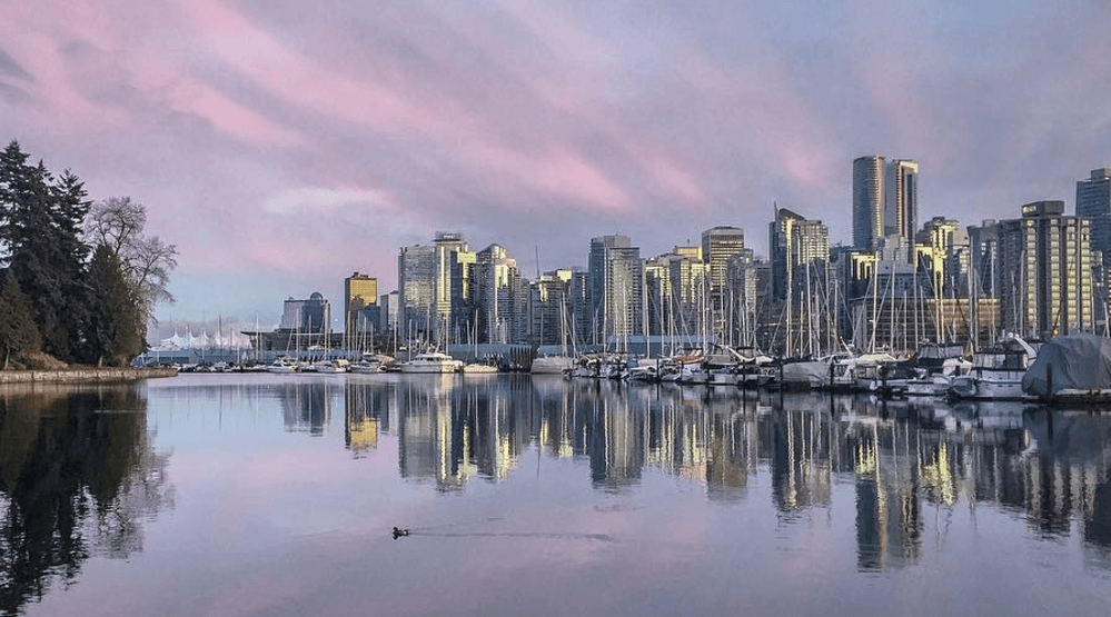 Vancouver Skyline (ldgarbs/ Instagram)