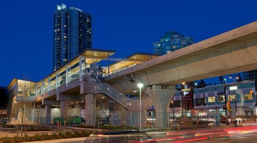 Lincoln Station on Skytrain's Evergreen Extension (Grant Mattice/Flickr)