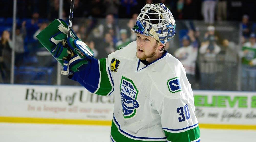 """I wasn't losing anymore"": Canucks prospect Demko adjusting nicely to pro hockey"