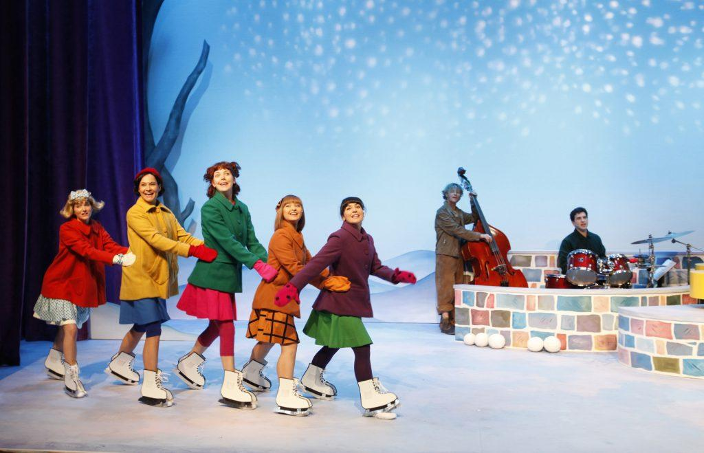 The company of A Charlie Brown Christmas. Photo by Tim Matheson.