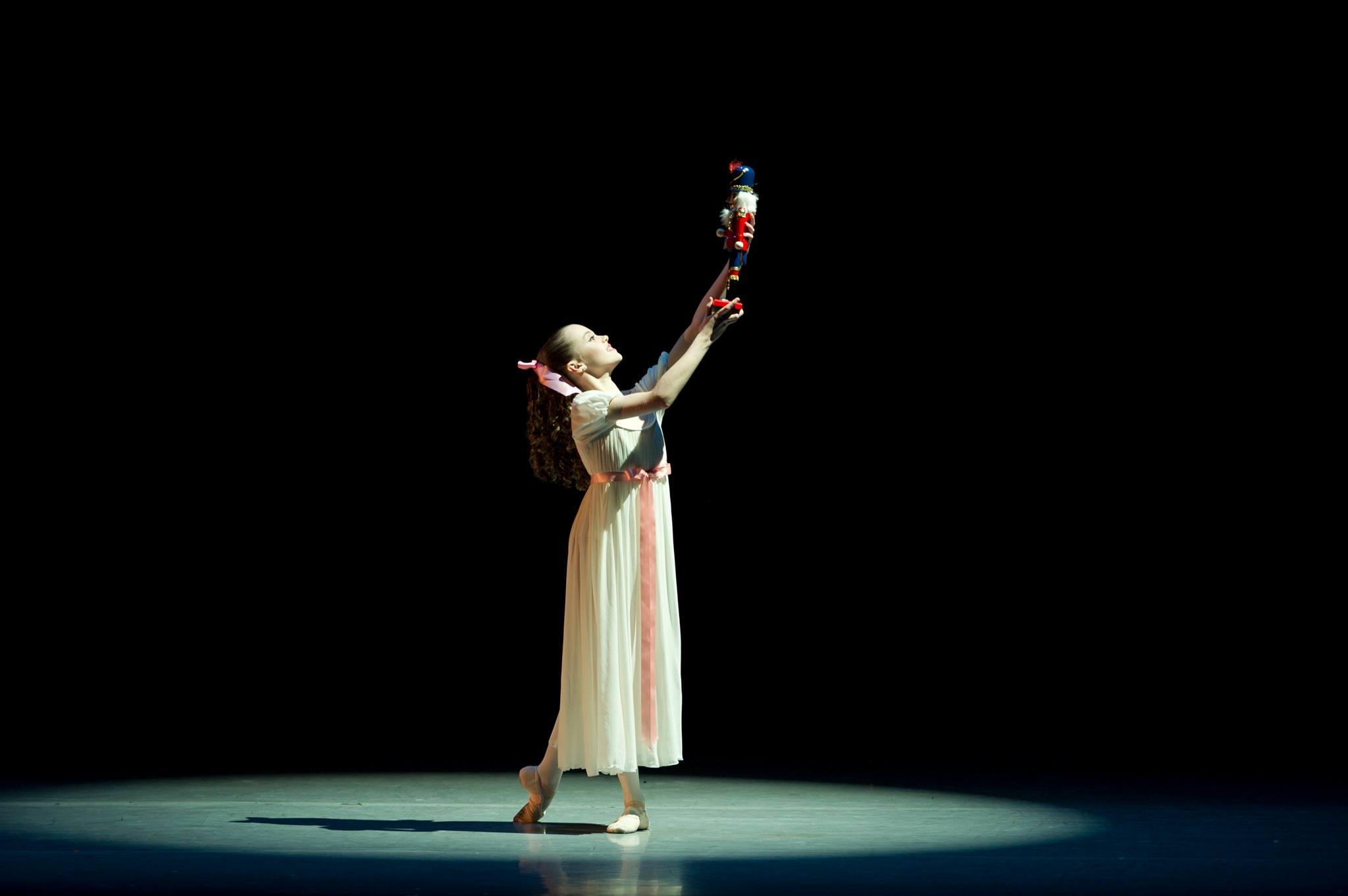 Clara in The Nutcracker (Goh Ballet/Facebook)