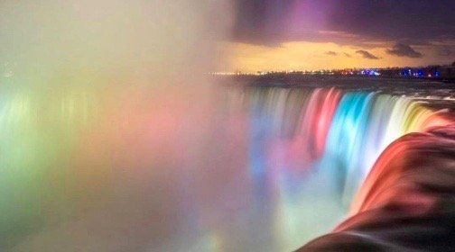 11 spectacular photos of Niagara Falls new light installation