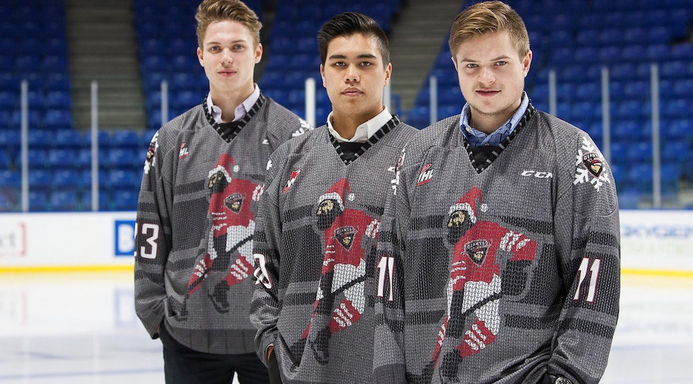 Ugly Christmas sweater time: Vancouver Giants will wear these jerseys December 9 and 10