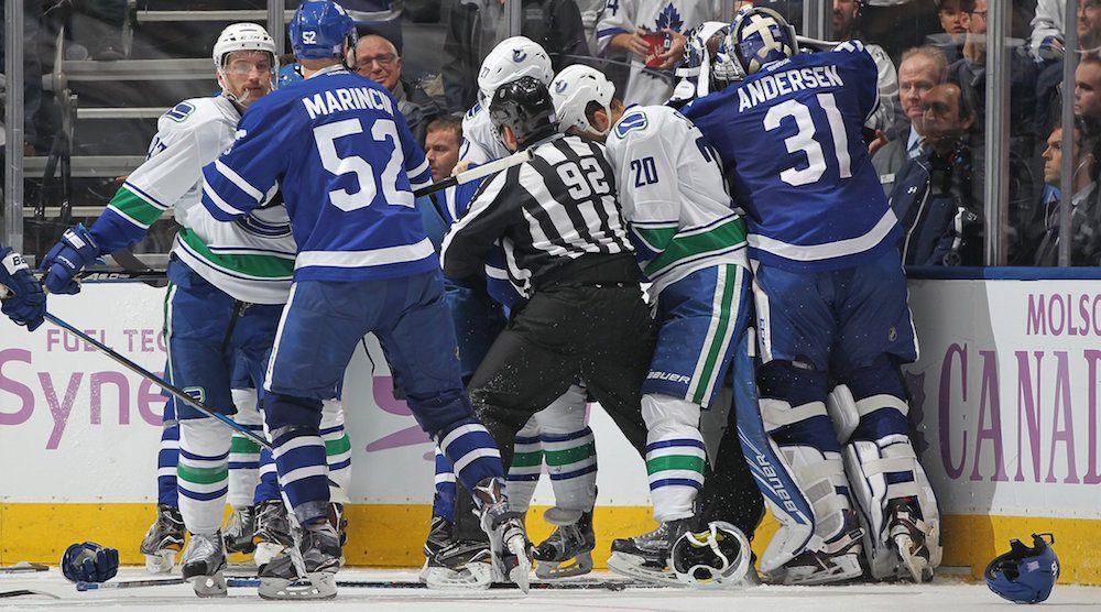 Canucks look for revenge against Leafs tonight