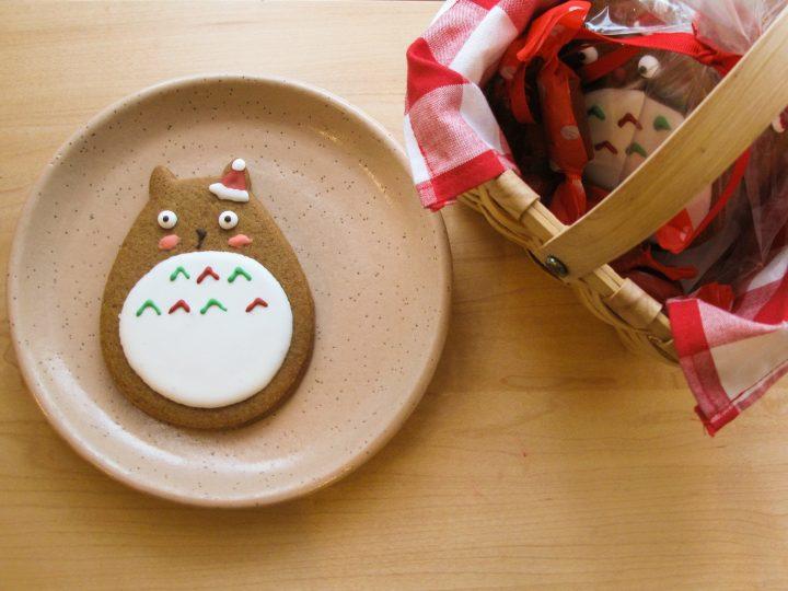 Totoro Cookies (Photo courtesy of Liberty Bakery).