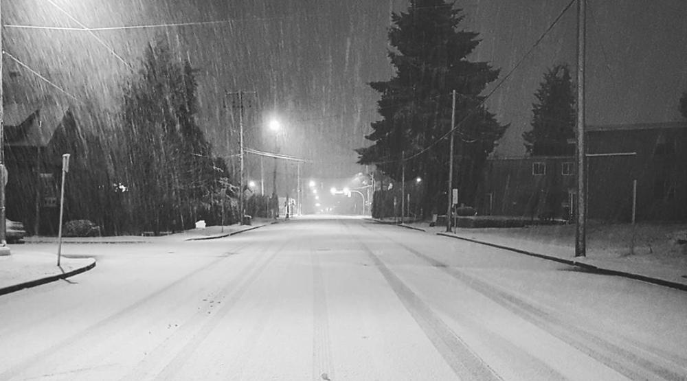 Vancouver snow dec 5 2016