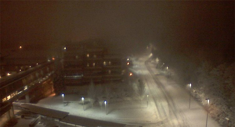 Sfu burnaby snow dec 5 2
