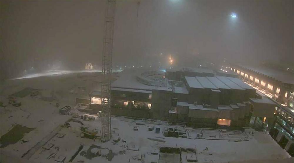 Sfu burnaby snow dec 5 3