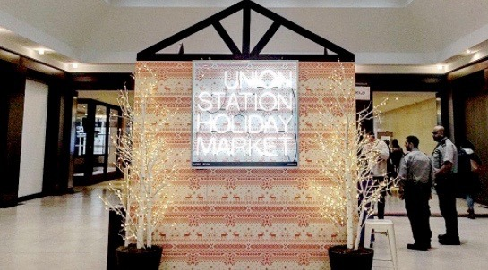 Toronto's Union Station Holiday Market opens today
