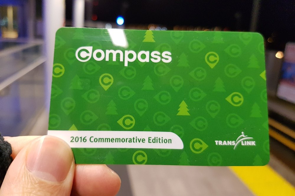 TransLink releases special edition Compass Card to celebrate SkyTrain's Evergreen Extension