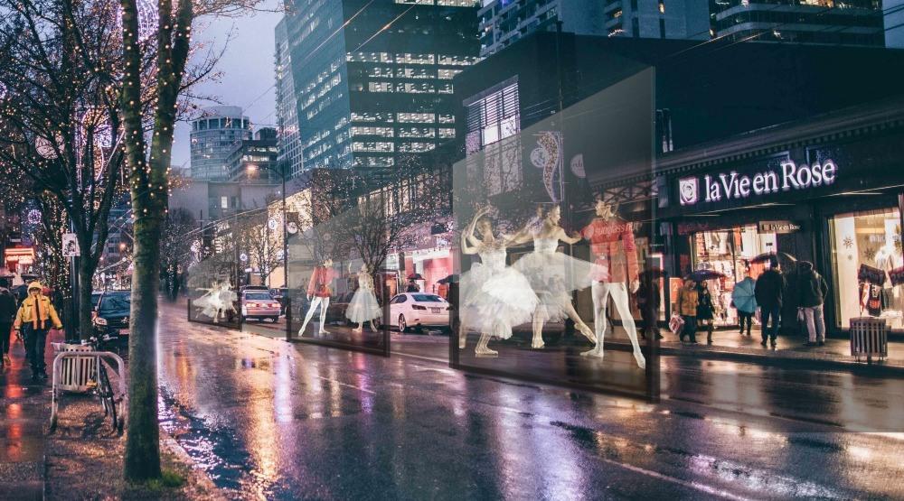Robson Street is showcasing the Nutcracker on December 10
