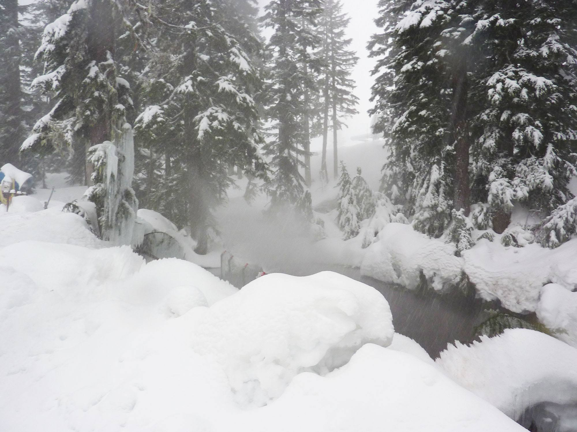 The snowshoe area on Grouse Mountain (kcxd/Flickr)