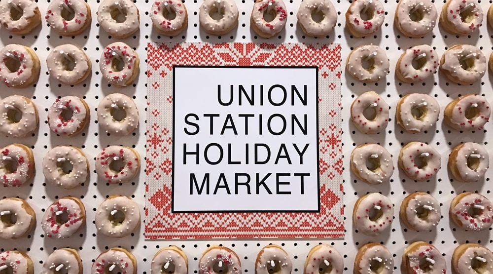 12 photos from inside last night's Union Station Holiday Market