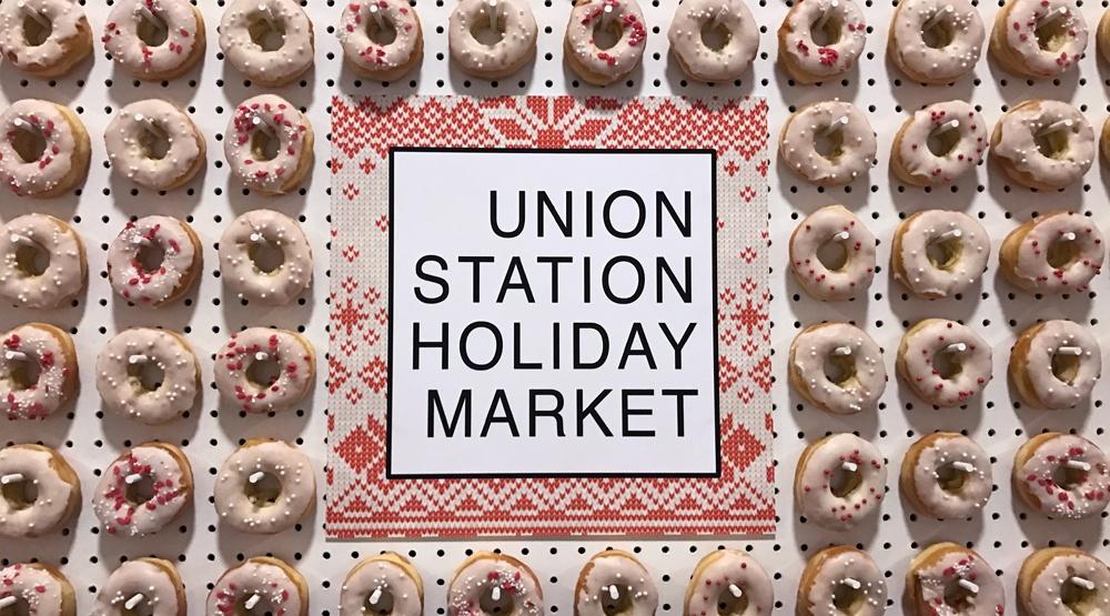Union station holiday market
