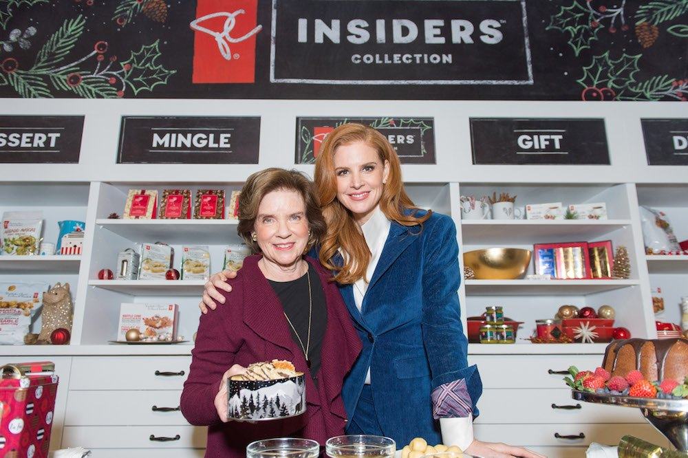 Rafferty, right, and her mom, Mimi, at a President's Choice event in Toronto (Photo courtesy President's Choice)