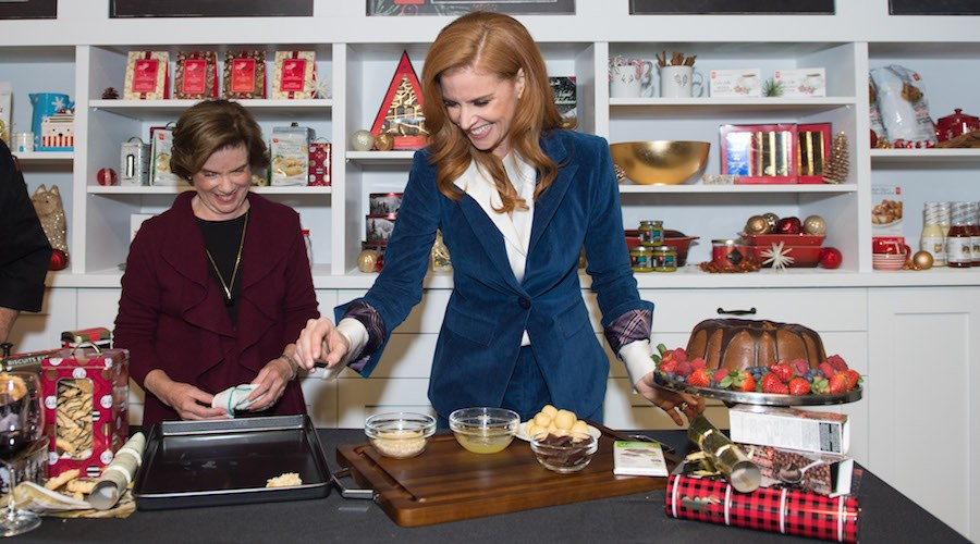 Sarah rafferty holiday entertaining