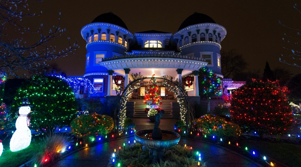 Canuck Place glows for the holidays with more than 60,000 lights