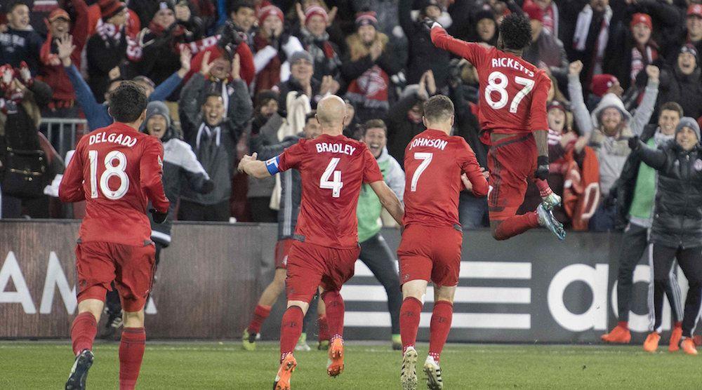 Toronto fc goal