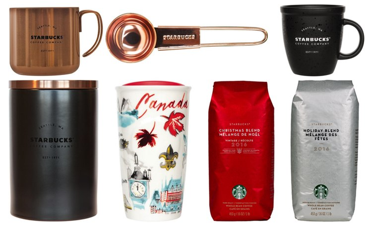 Starbucks prize package/Daily Hive