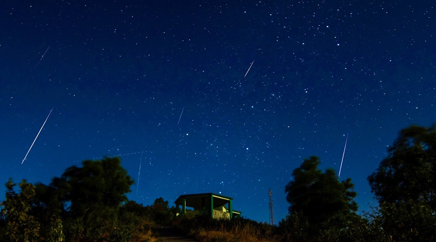 The best meteor shower of the year is happening right now