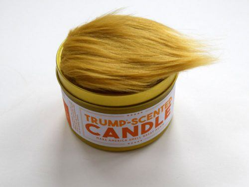 Trump scented candle (JDandKateIndustries/ Etsy)