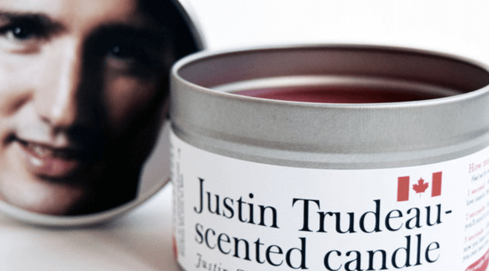 Get a whiff of this: Justin Trudeau-scented candles are the perfect holiday gift