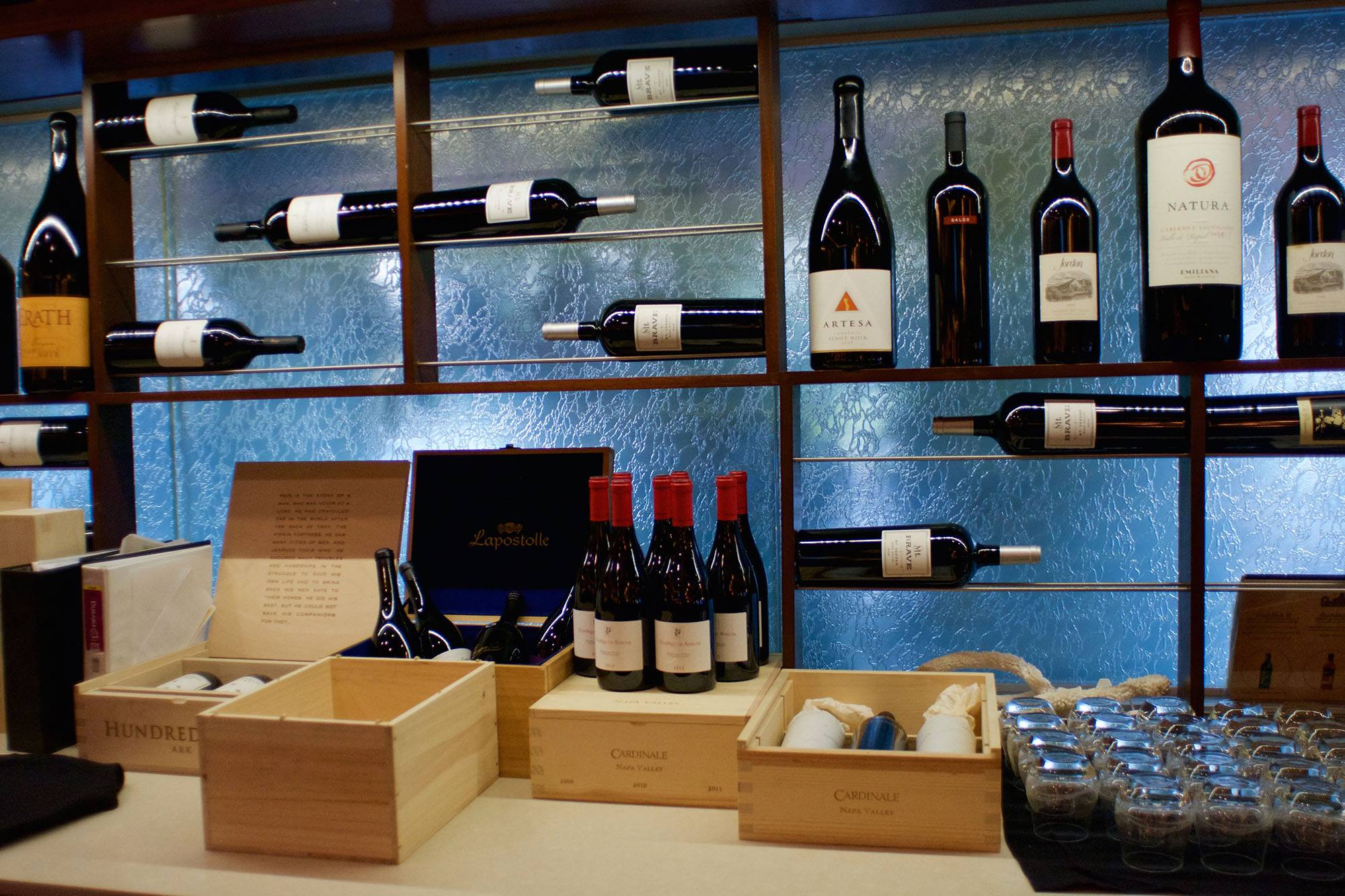 At the Winewood Grill (Adrian Brijbassi)