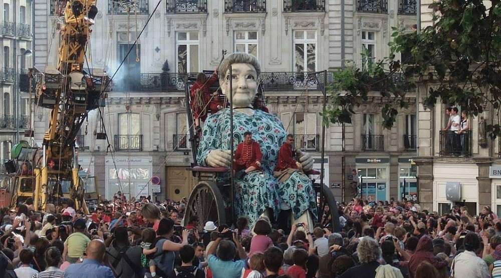 Giant marionette dolls are taking over Montreal