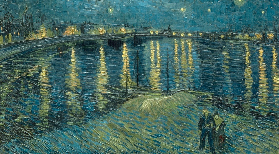 Behind the real life locations of some of the world 39 s most for Van gogh paintings locations