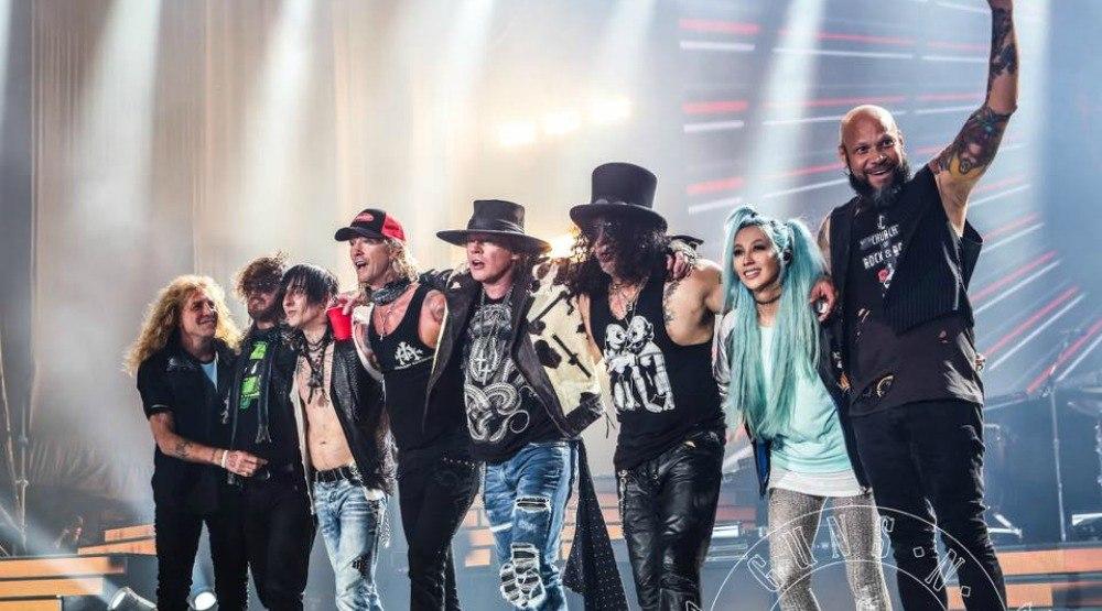 Guns N' Roses Vancouver concert 2017 (CONTEST)