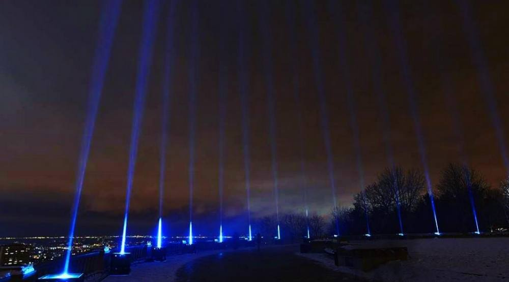 Montreal lit up to commemorate the Ecole Polytechnique Massacre