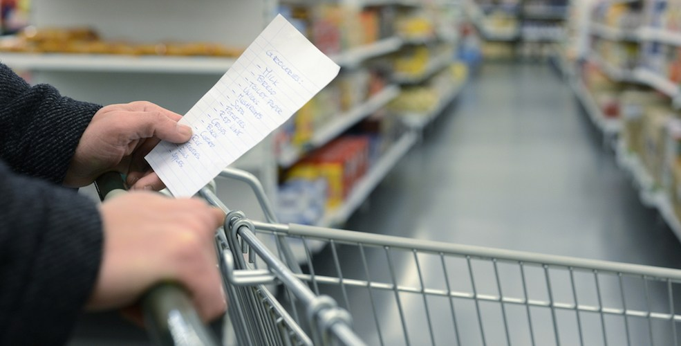Grocery shopping/Shutterstock